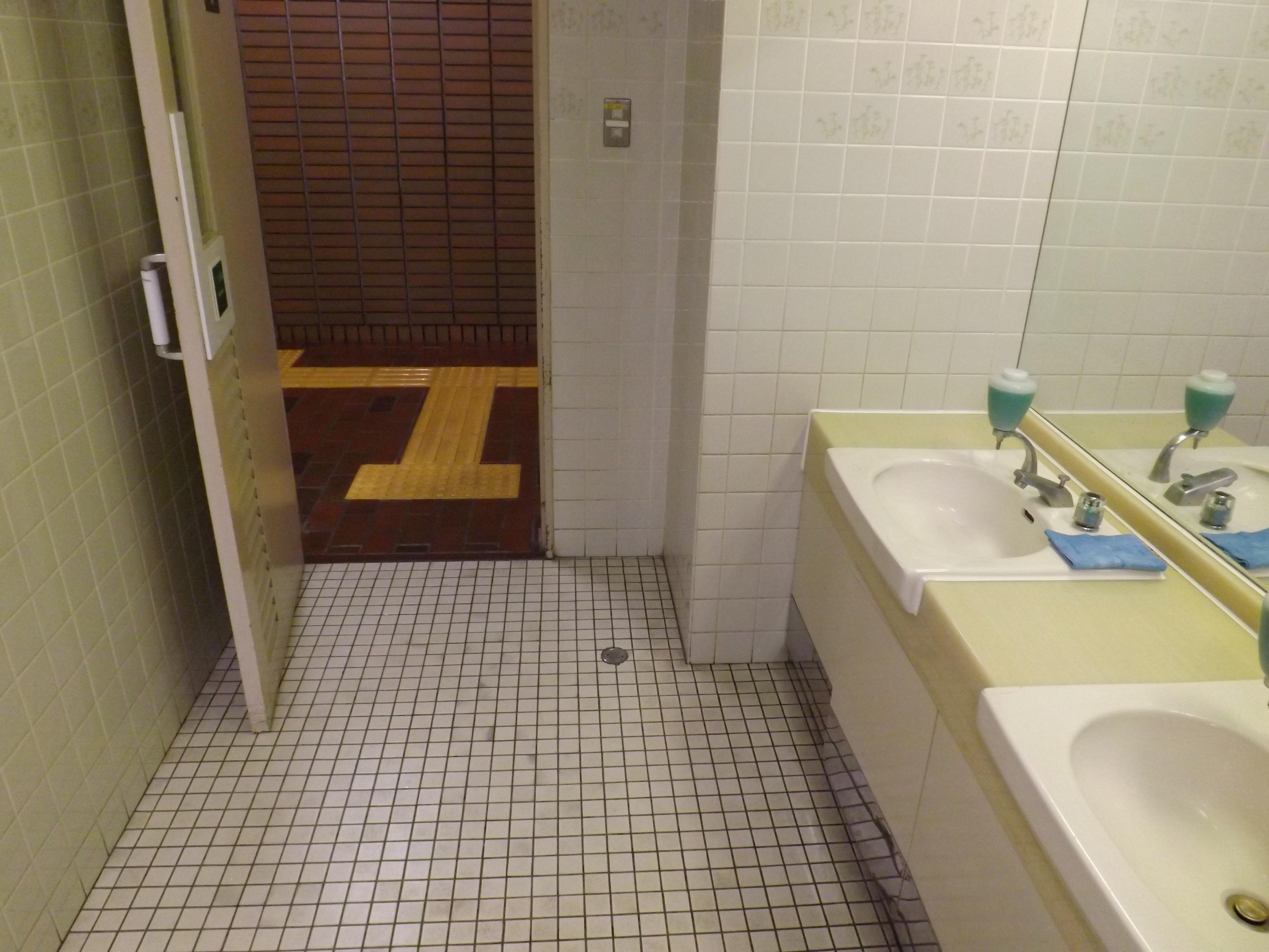 、「肘でドアを開けられ清潔」と副市長は答弁しましたが、市役所1階トイレの手洗いを自動にし、手を清潔にしても、その手でドアを引かなければ外に出られない。。。結局、感染予防には消毒液が欠かせないのです。